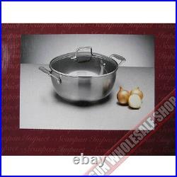 100% Genuine! SCANPAN Impact 32cm 8.5L Stew Pot Stainless Steel! RRP $189.00