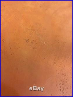 1801 Large Revere Ware 16qt 88 Super Stock Pot Clinton IL USA Copper Stainless