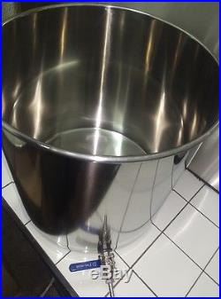 33ltr stainless steel stockpot with tap