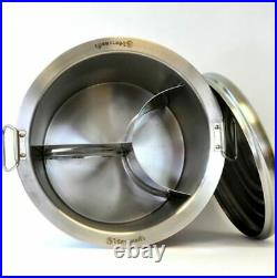 40 cm Thai noodle soup pot Zebra Stainless Steel Stock pot Chef Model + Tracking