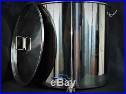 70ltr stainless steel stockpot with Tap (hlt mashtun kettle) fermenting