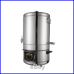 80 220V Stainless Steel Homebrew Stockpot Boil Kettle Mash Tun Beer Wine Brewing