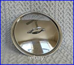 ALL CLAD 8 Qt (7.5L) Polished Stainless Steel Stock Pot and Lid NEW! Made in USA
