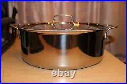 ALL-CLAD Cookware Stainless Steel Tri-Ply 6 Quart Covered Stockpot with Lid