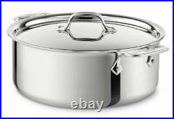 ALL-CLAD D3 4506 3-Ply Stainless Steel 6-Quart Stockpot- BRAND NEW