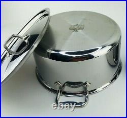 ALL-CLAD D5 8qt Stock Pot Sauce Pot Stainless Steel 5-ply Cookware 11