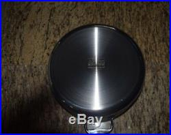 ALL-CLAD Stainless 8 Qt STOCK POT with LID Tri Ply Stainless Dishwasher Safe