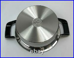 AMC Stainless Cookware Pot 2.3 Liters 7 x 3.5 inch NWOT