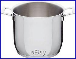 A di Alessi AJM100/24 Pots&Pans, Stockpot (mirror polished)