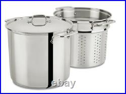 Al-clad Stainless Steel 16-Quart Multi Cooker Cookware Set with Lid