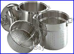 All-Clad 12 QT Stainless Steel Multi-Cooker Set NEW SEALED