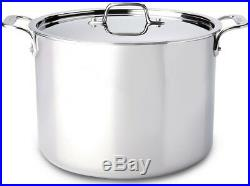 All-Clad 12 QT Stainless Steel Stockpot & Lid