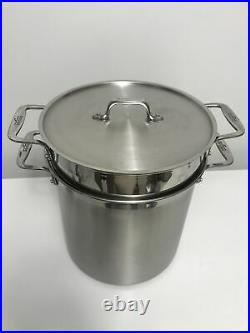 All-Clad 12 qt Stainless Steel 3-Piece Multicooker