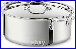 All-Clad 4506 Stainless Steel Tri-Ply 6 Qt Stockpot with Lid