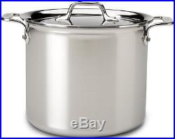 All-Clad 4507 Stainless Steel Tri-Ply Bonded Dishwasher Safe Stockpot with Lid /