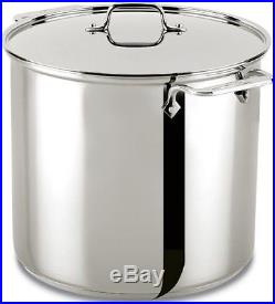All-Clad 59916 Stainless Steel Dishwasher Safe Stockpot Cookware, 16-Quart