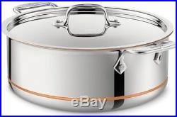 All-Clad 6506 SS Copper Core 5-Ply Bonded Dishwasher Safe 6-qt Stockpot