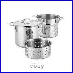 All-Clad 8-Qt. Stainless Steel Multipot with Insert and Steamer Basket