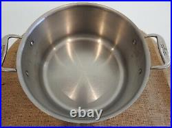 All-Clad 8 Qt. Stainless Steel Stock Pot