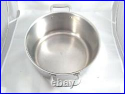 All-Clad 8 Qt Stainless Steel Stock Pot Pan No Lid