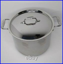 All-Clad 8-Quart Cookware Stainless Steel Stockpot With Lid