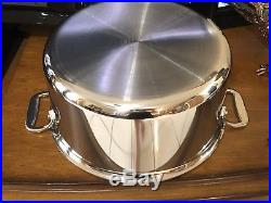 All-Clad 8qt Stock pot 3-ply Stainless Steel Polished (not Factory box)