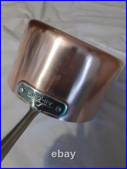 All Clad C4 Copper 4 Quart Pot with handle Stainless Steel With Lid RARE