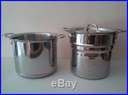 all clad pasta pot. All-Clad Copper Core 7 Qt Pasta Pot With Insert, Induction, Lifetime All Clad