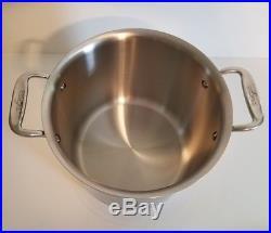 All-Clad Copper Core 7 qt Tall Pasta Stock Pot New