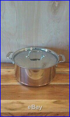 All-Clad Copper Core 8 Qt Stockpot with Lid, Polished, Induction, Lifetime