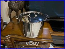 All-Clad D3 12 Qt Stock Pot polished Tri-Ply Stainless Steel(see Details)