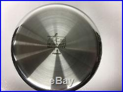 All-Clad D5 Polished 7-Qt. Flared Rim Stock pot with All-clad Ladle