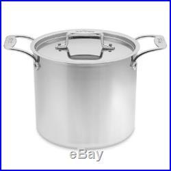 All-Clad D5 Polished 7-Qt. Stock pot. No Lid
