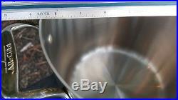 All Clad D5 Stainless Steel 7 qt Quart Tall Stock Pot New 7qt