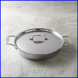 All Clad D5 Stainless Steel Nonstick All-In-One Pan 4 QT