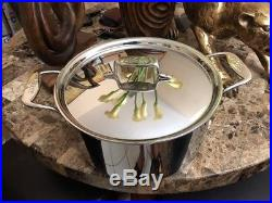 All-Clad D5 Stock Pot 8Qt 5-ply Nonstick