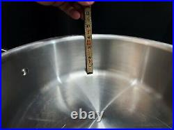 All-Clad D7 Stainless Steel 7-Ply 6 Qt Stock Pot with Dome Lid