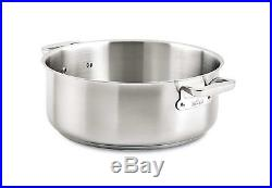 All-Clad E7506464 Stainless Steel Rondeau Pot, 20 quart