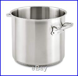All-Clad E7507064 Stainless Steel Dishwasher Safe Stockpot Cookware, 24-Qt