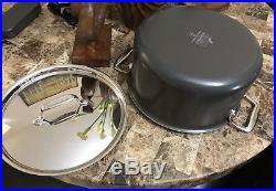 All-Clad LTD2 Stock Pot 8Qt Newest Model LTD 5-ply (No Factory Box)