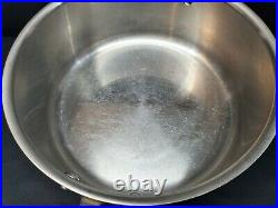 All Clad LTD 6-Quart Stainless Steel Sauce Pan Stock Pot, with Lid and Handle