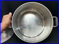 All Clad LTD Anodized Stainless 16 Qt Stockpot Dutch Oven