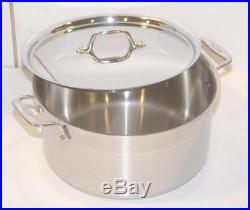 All-Clad Metal Crafters LLC 8 QT. Stainless Steel Aluminum Stockpot with Lid