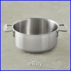 All-Clad Professional Stainless-Steel Rondeau, 16-Qt
