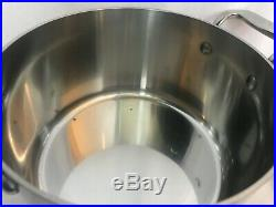 All-Clad Stainless 4 qt Casserole With Lid 5304 Stock Pot Soup Pot