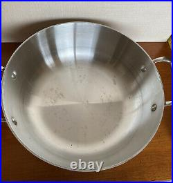 All-Clad Stainless Steel 2 1/2 Quart Rice Grain & Bean Soup Stock Pot USA