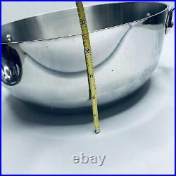 All-Clad Stainless Steel 5.5 Qt Quart Dutch Oven Stock Pot With Domed Lid