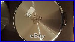 All-Clad Stainless Steel 8 QT Pan With Lid NEW TAGGED Perfect