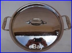 All Clad Stainless Steel 8 Qt Quart Stock Pot Pan FREE SHIPPING