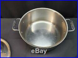 All-Clad Stainless Steel 8 Quart Stockpot Stock Pot with Lid